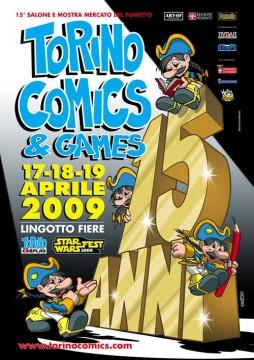 locandina torni comics 2009
