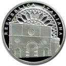 Una moneta d'argento da parte della zecca