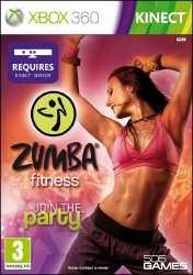 Zumba Fitness Kinect Xbox 360 Recensione