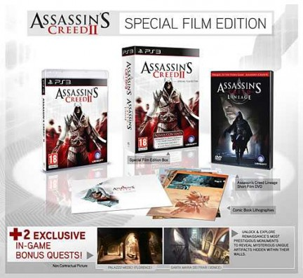 Assassin's Creed 2 Special Film Edition Playstation 3 Xbox 360 Recensione
