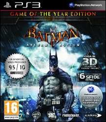 Batman Arkham Asylum Game of the Year Edition Playstation 3 Xbox 360 Recensione