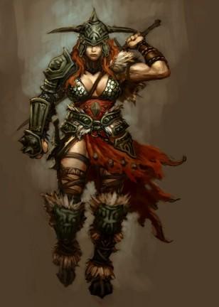 Diablo 3 Monaco e Barbaro al Femminile