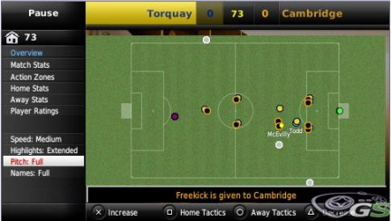 Football Manager 2009 Handheld