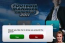 Football Manager Handheld 2011 iPhone iPod touch Recensione