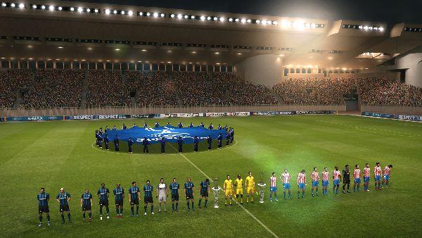 La Super Coppa Europea in Pro Evolution Soccer 2011