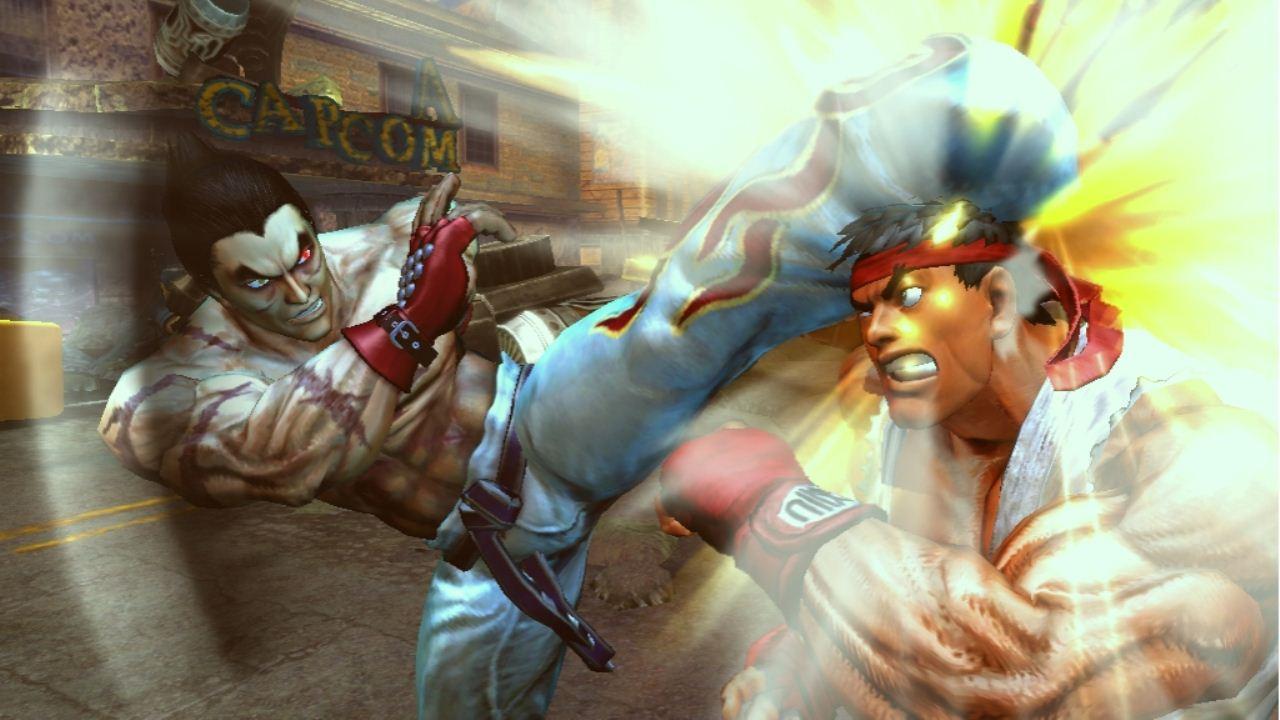 Street Fighter e Tekken si incontrano - scontrano