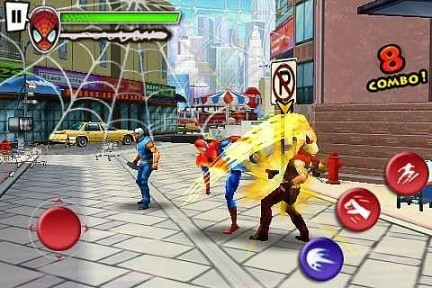 Ultimate Spider-Man Total Mayhem iPhone Recensione