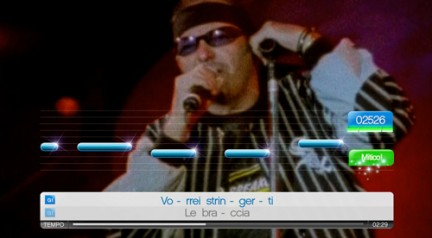 Vasco Rossi Singstar Playstation 2 Recensione