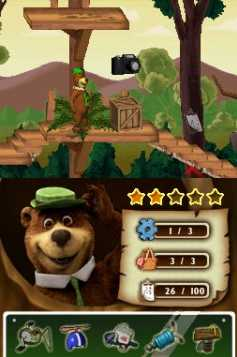 Yoghi Il Videogame Nintendo DS Recensione