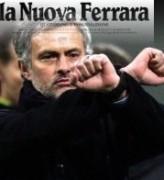 Mourinho e La Nuova Ferrara