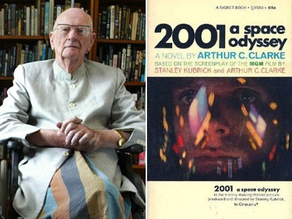 Arthur Clarke photo umanesimo e scienza