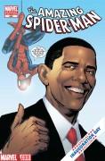 Obama - Marvel - Spider-Man - Uomo Ragno