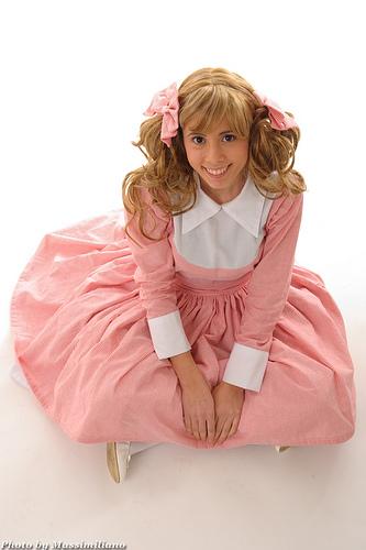Ecco un altro cosplay di Amy, Candy Candy!