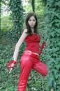 Ecco alcune foto del cosplay di Elektra, l'assassina della Marvel!