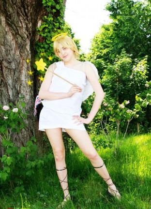 Ecco alcune foto dei cosplay di Giulia!
