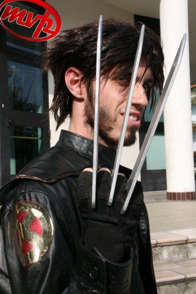 Ecco alcune foto dei cosplay di Jacopo Calatroni!