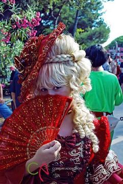 cosplay death note, cosplay lady oscar, cosplay saint seiya