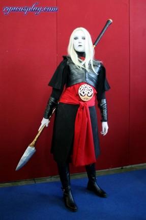 Ecco le foto dell'ultimo cosplay fatto da Ryuki, Nuada direttamente da Hellboy 2!