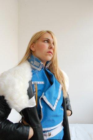 Ecco le foto dei cosplay di Riza Hawkeye!
