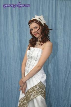 Ecco le foto del cosplay di Satine fatto da Ryuki dal film Moulin Rogue!