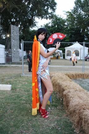 Ecco alcune foto dei cosplay di *Rinoa*!
