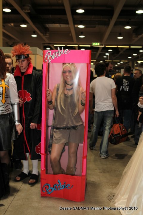 Ecco le foto dei cosplay di Yoko!
