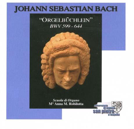 Bach orgelb chlein bwv 599 644 for Compositore tedesco della musica da tavola