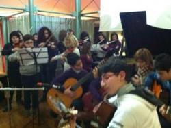 Giovani musicisti a Cosenza