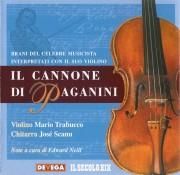 Copertina cd Cannone di Paganini