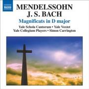 Copertina cd Magnificat Bach-Mendelssohn