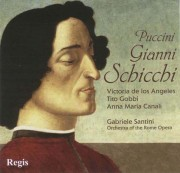 Copertina cd Gianni Schicchi