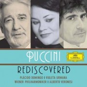 Copertina cd Puccini Rediscovered