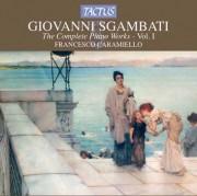 Copertina cd Sgambati I vol