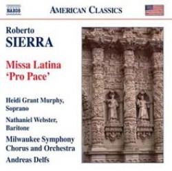 Copertina cd Missa Latina