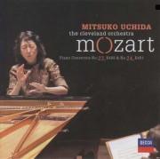 Copertina cd Uchida esegue Mozart