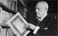 Foto Sibelius anziano