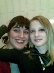 Sarah con Sabrina