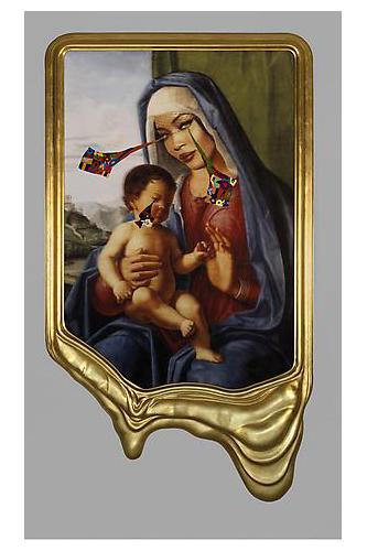 Naomi Campbell come la Madonna con bambino di Cima da Conegliano