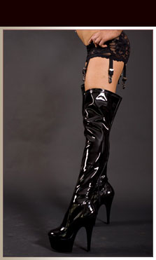 Stivali in Latex