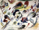 Primo acquerello astratto di Kandinskij