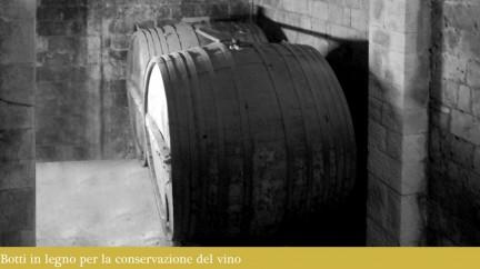 Botti in legno per la conservazione del vino