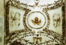 Le decorazioni sul soffitto della Cripta