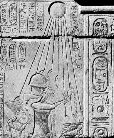 Nefertiti e Akhenaton - L'epoca di Amarna