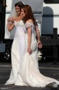 Dana Delany e Teri Hatcher sul set s6
