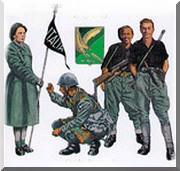 Divise dei soldati repubblichini
