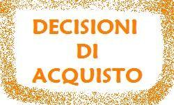decisioni di acquisto