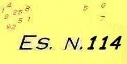 Esercizio di ragioneria n.114