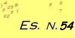 Esercizio di ragioneria n.54