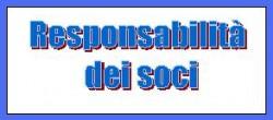 responsabilità dei soci