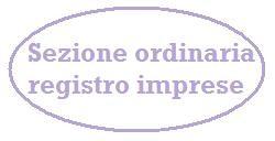 sezione ordinaria registro imprese